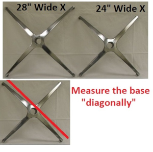 x base measurement