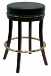 Backless Bar stool with Leather