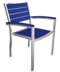 Poly-Wood Chair Blue