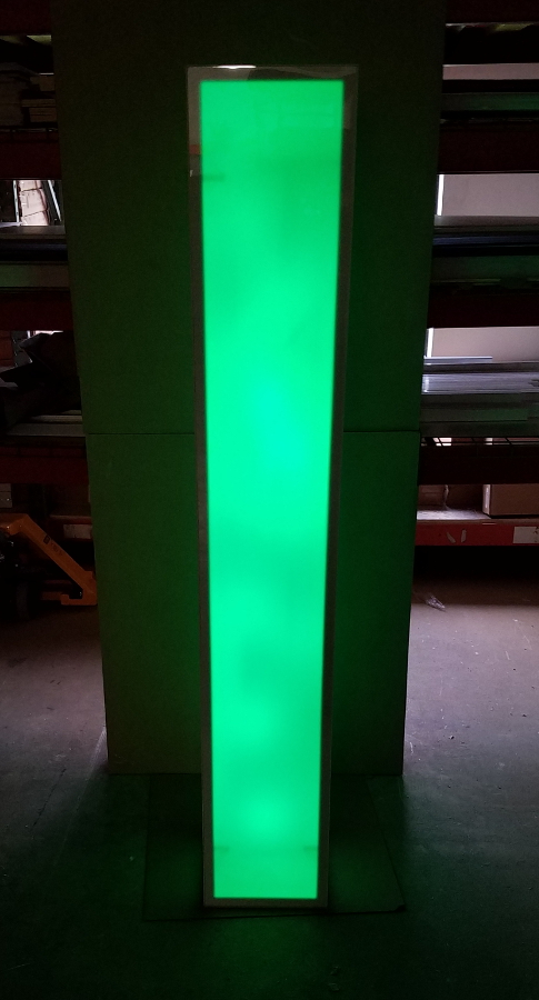 6 Foot Tall Portable Light Up Led Glow Column