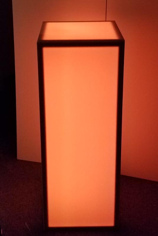 16 X 16 X 42 Glow Column Orange