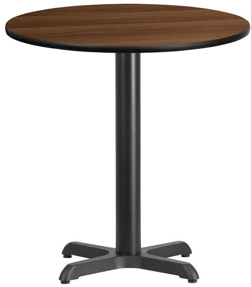 24 Inch Round Commercial Table With, 24 Inch Round Table