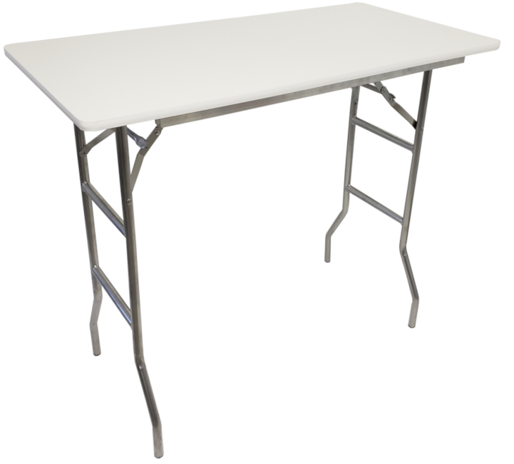 Extra Tall Folding Table 41 Inch Height