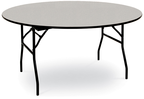 60 Inch Diameter Round Banquet Table Laminate On Plywood Core