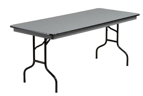 30 x 72 heavy duty abs plastic 6 foot rectangle folding table