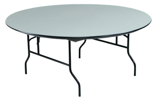 60 Inch Round Abs Plastic Folding Table With Honeycomb Core
