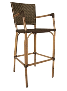 Safari Weave Bar Stool