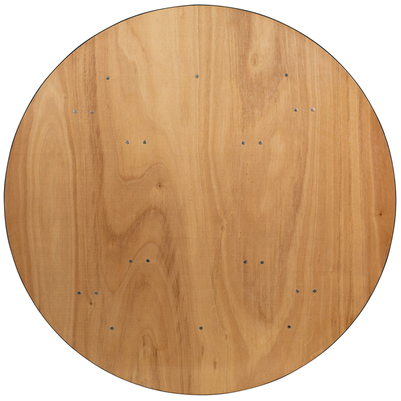 60 Round Plywood Banquet Table Btp60r Wood