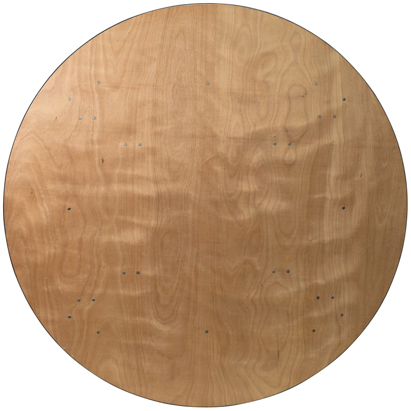 72 Round Plywood Top Banquet Table Btp72r Wood