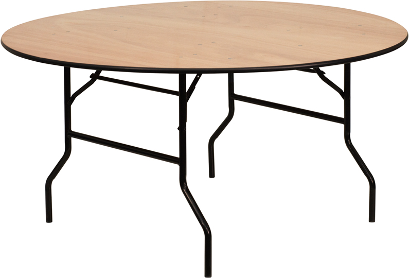 60 Round Plywood Banquet Table