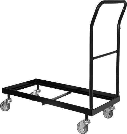 Folding Chair Cart 36 Capacity