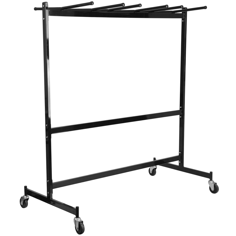 Folding Table And Chair Cart Combo Transport Cart