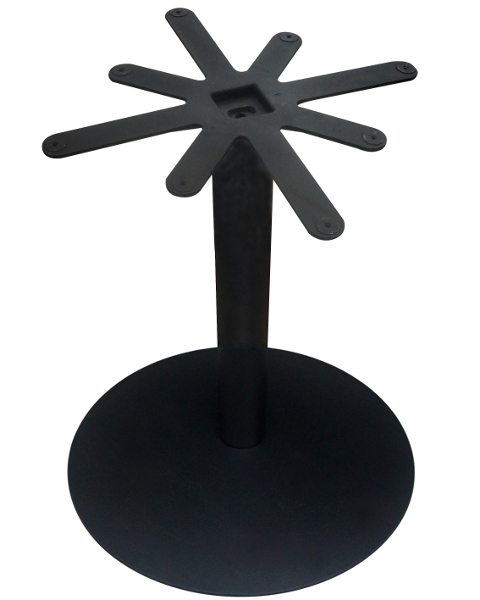 28 Inch Diameter Round Black Base