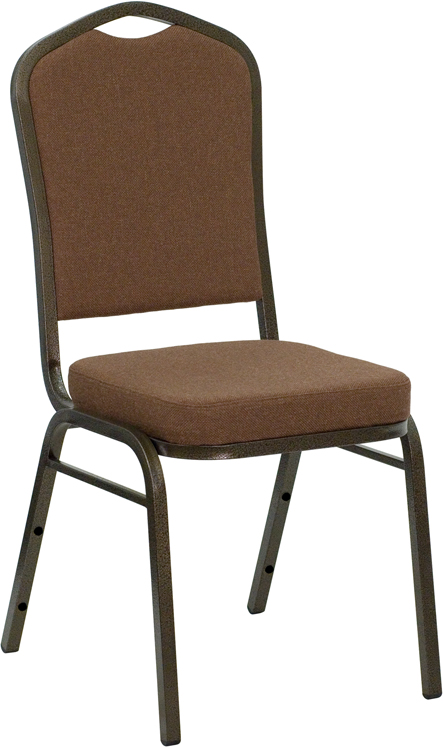 Coffee Brown Banquet Chair