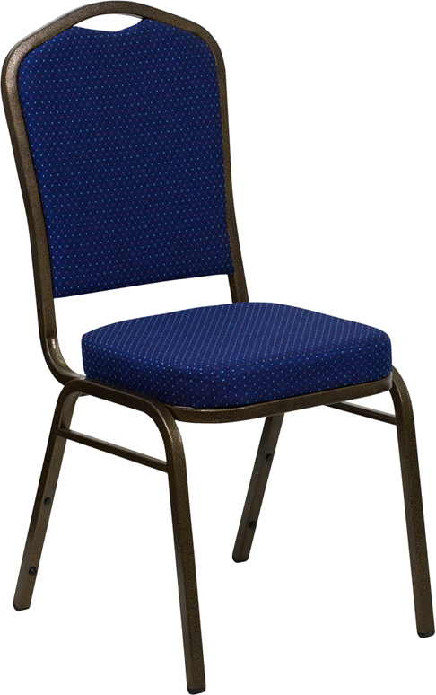 Beau Blue Chair. Side View