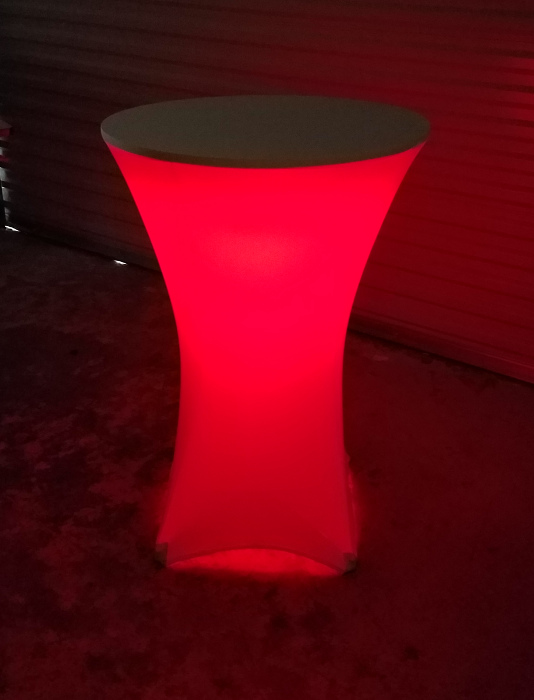 LED Cocktail Red