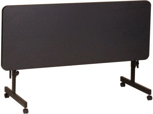 Laminate Rectangular Flip Top Adjustable Height Table W