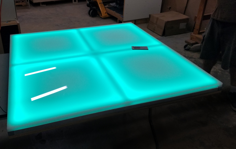 Light Up Led Color Changing Dance Floor Panels 4x4
