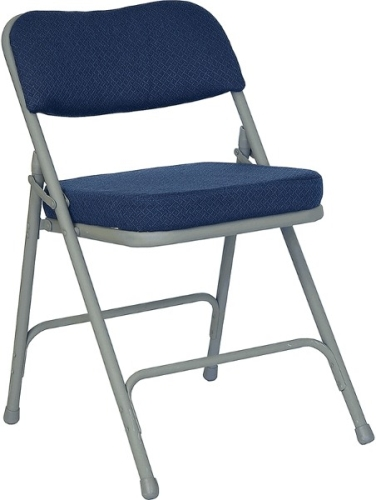 Navy With Gray Frame Chair