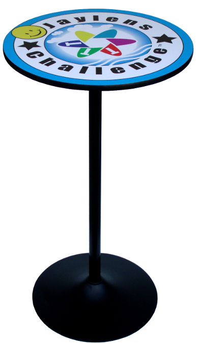 Round Branded Logo Tables For Trade Shows Amp Events