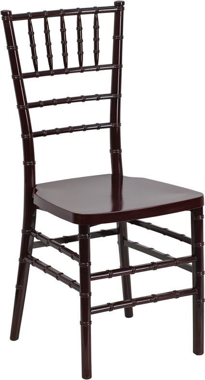 Mahogany Resin Chiavari Chair