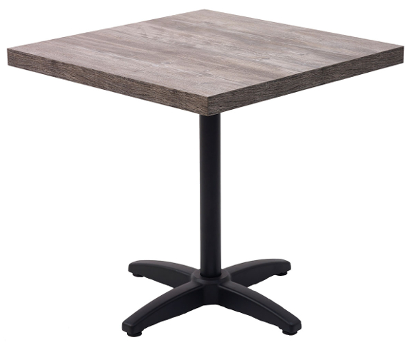 Square marco series modern indoor restaurant table w for Table 85 cafe and catering