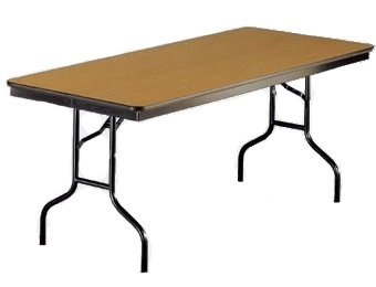 Heavy Duty Rectangular Laminate Folding Table