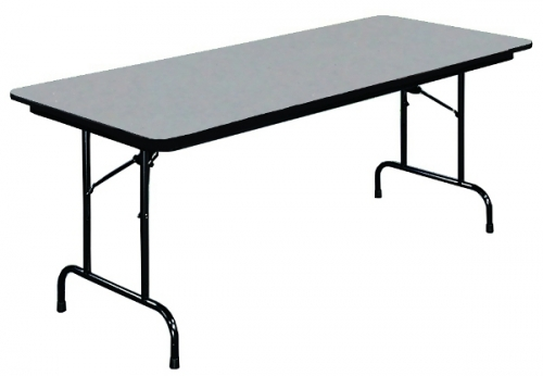Rectangle Folding Table W Melamine Top