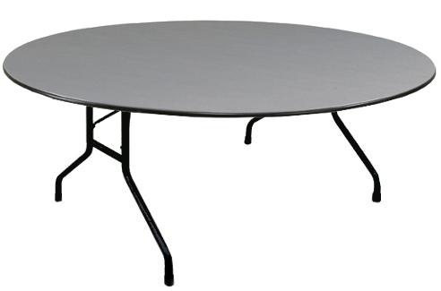 High Pressure Laminate 60 Round Folding Table