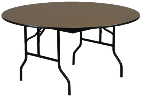 Laminate Top 48 Round Folding Table By Midwest Folding
