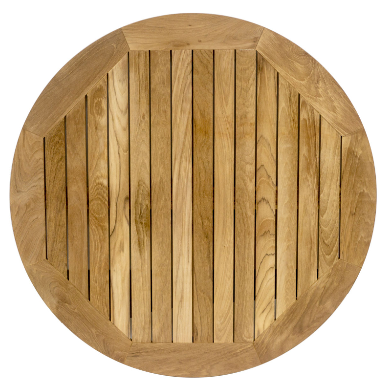 Round Outdoor Real Teak Table Top 24,32, or 36 Round