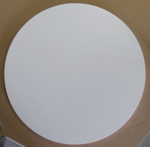 Round White Formica Indoor Table Top Only 30 Or 36 Inch