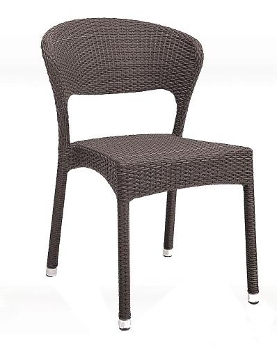 Aluminum Frame Wicker Chair