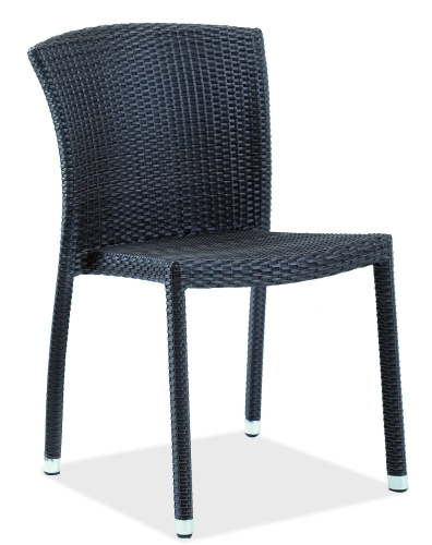 Indo Wicker Outdoor Side Chair
